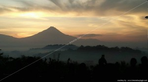 Head - Borobudur Sunrise